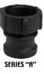 "Gator Lock Series ""A"" - Male Adapter / Female Thread"
