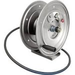 Heavy-Duty DHRP50150 Pedestal Mount Hose Reel