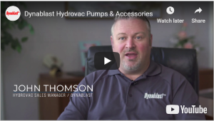 Dynablast Hydrovac Pumps and Accessories